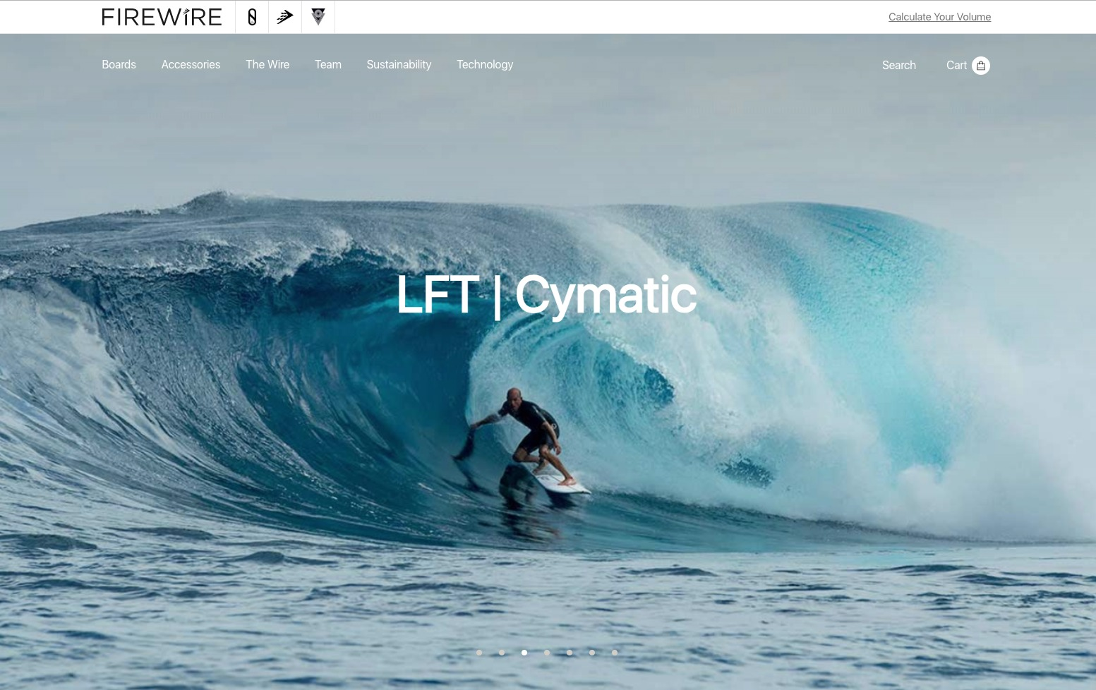 firewire surfboards store example