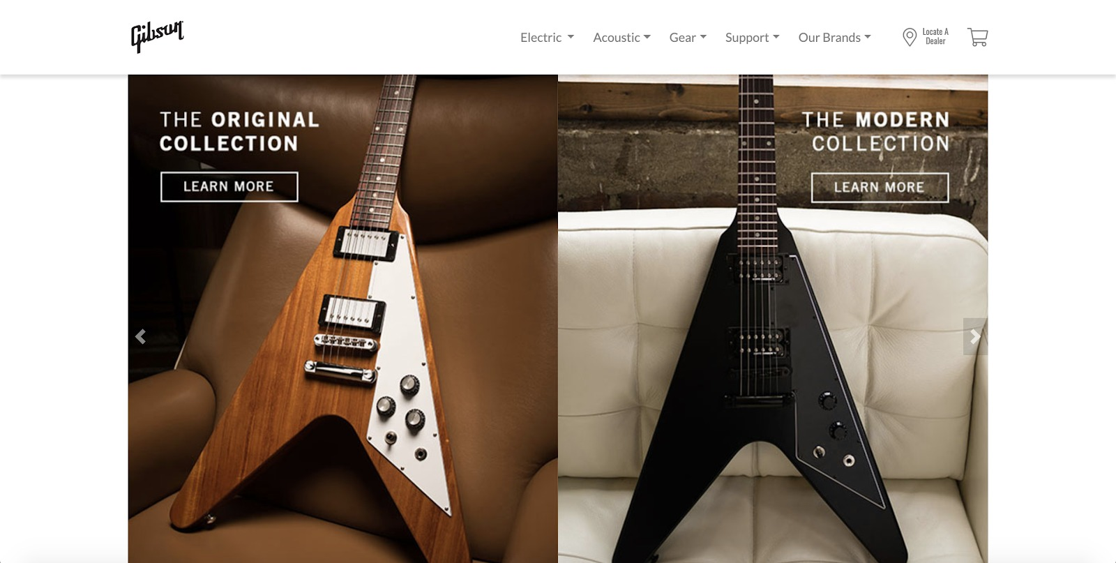 gibson store example