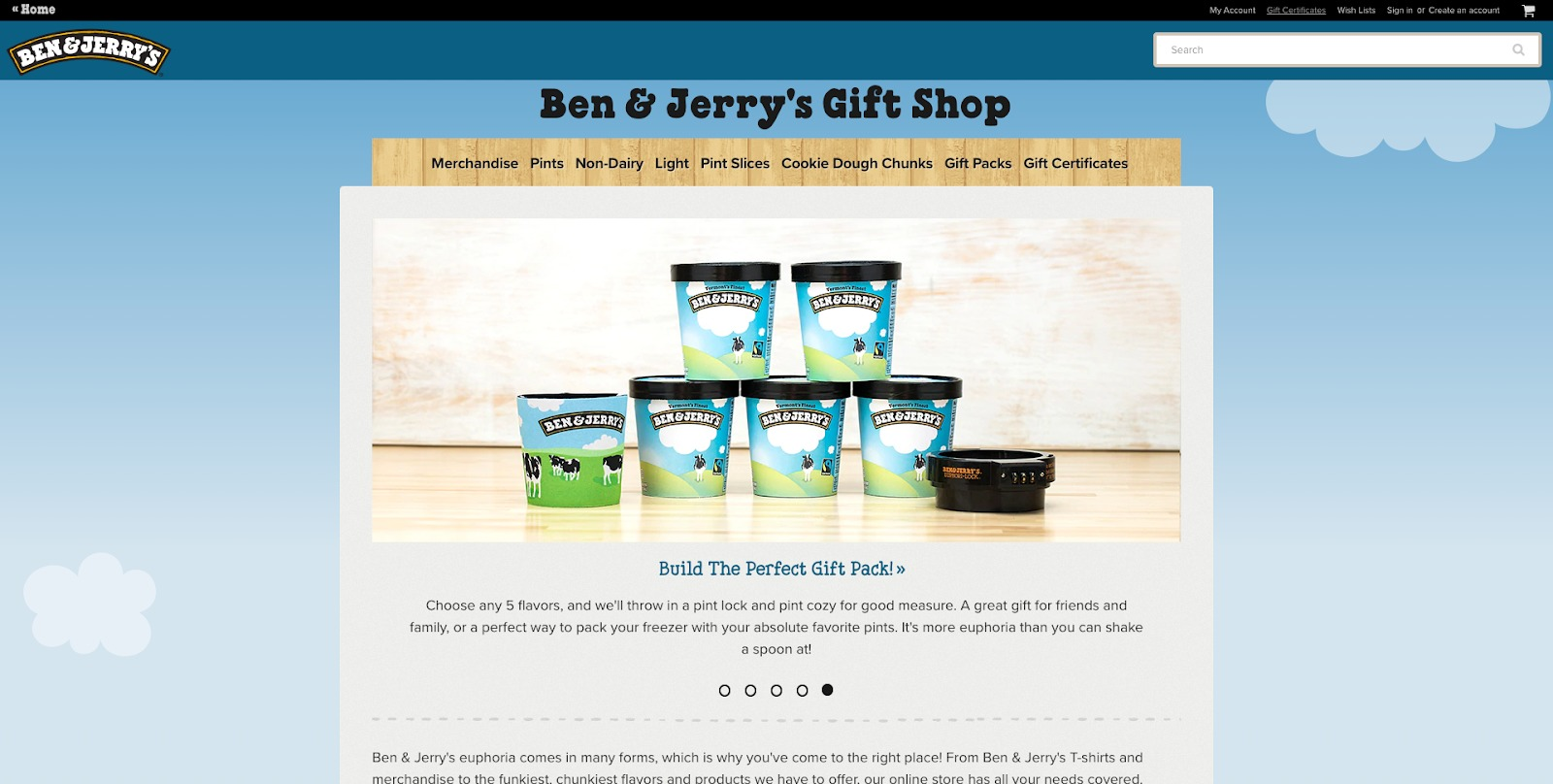 Ben And Jerrys Homepage
