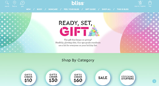 bliss example blog