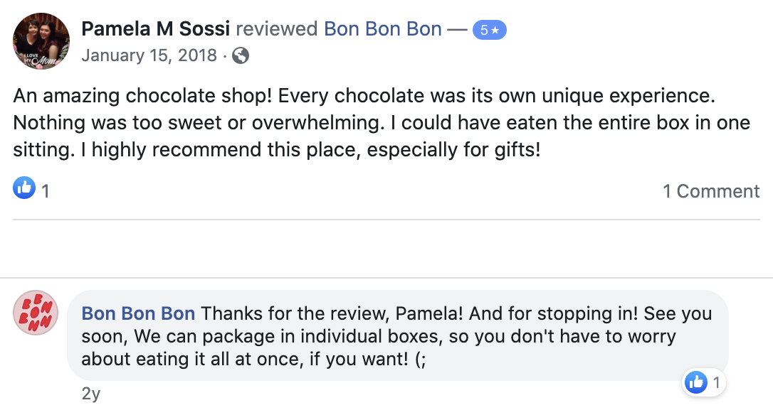 Bon Bon Bon Reviews