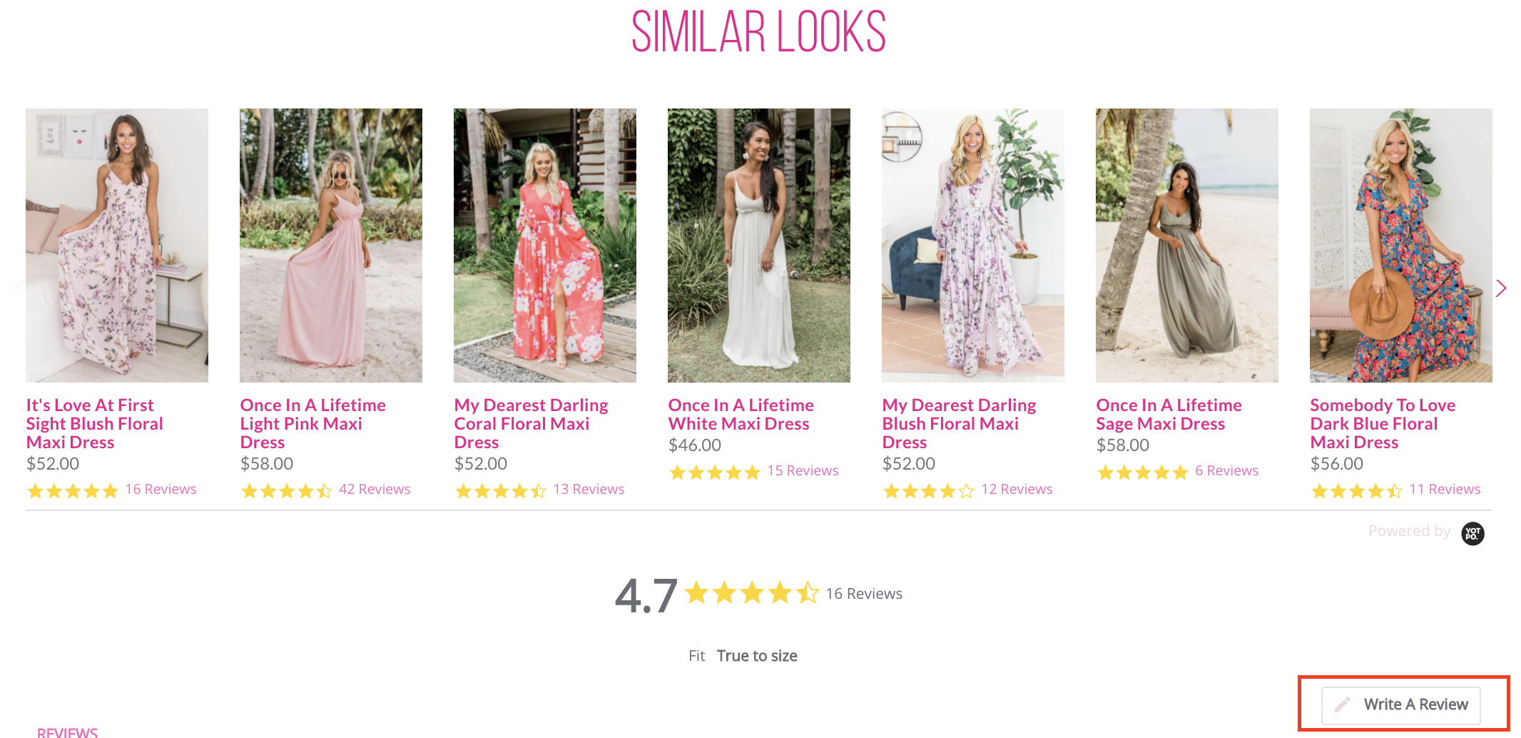 Online Reviews Pink Lily