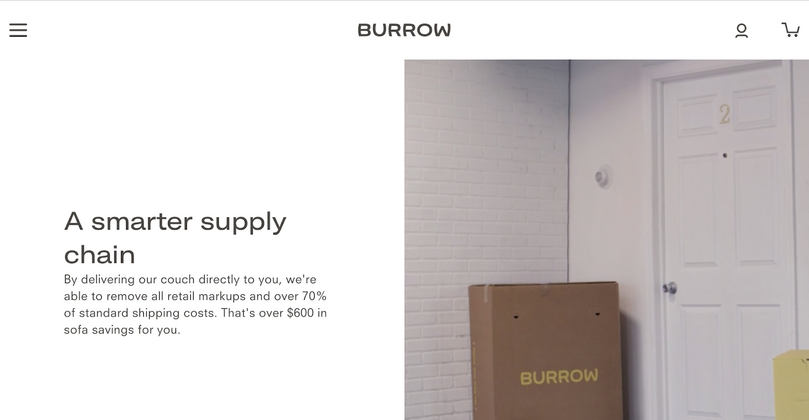 Burrow about us page