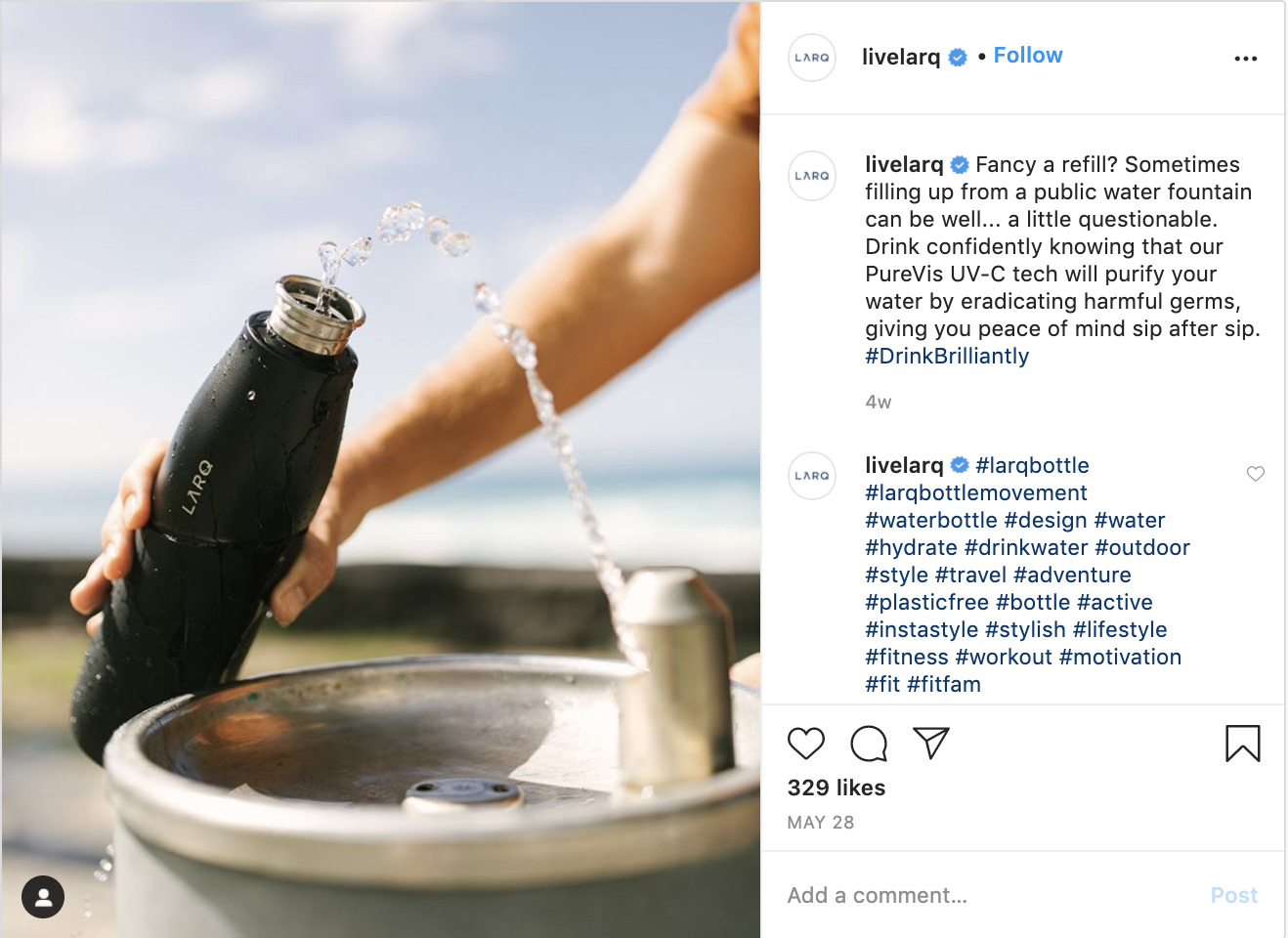 How to sell on instagram - Larq