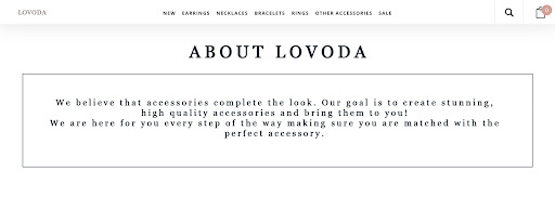 Lovoda About us page
